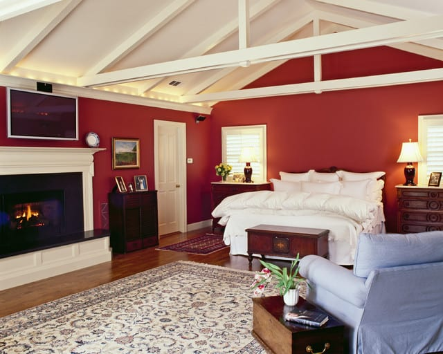 Ideas for bedrooms red bedroom decor
