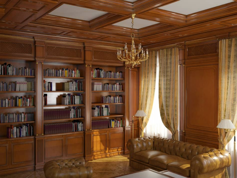 living room designs chocolate brown sofa houzz small photos office decor ideas: classic design