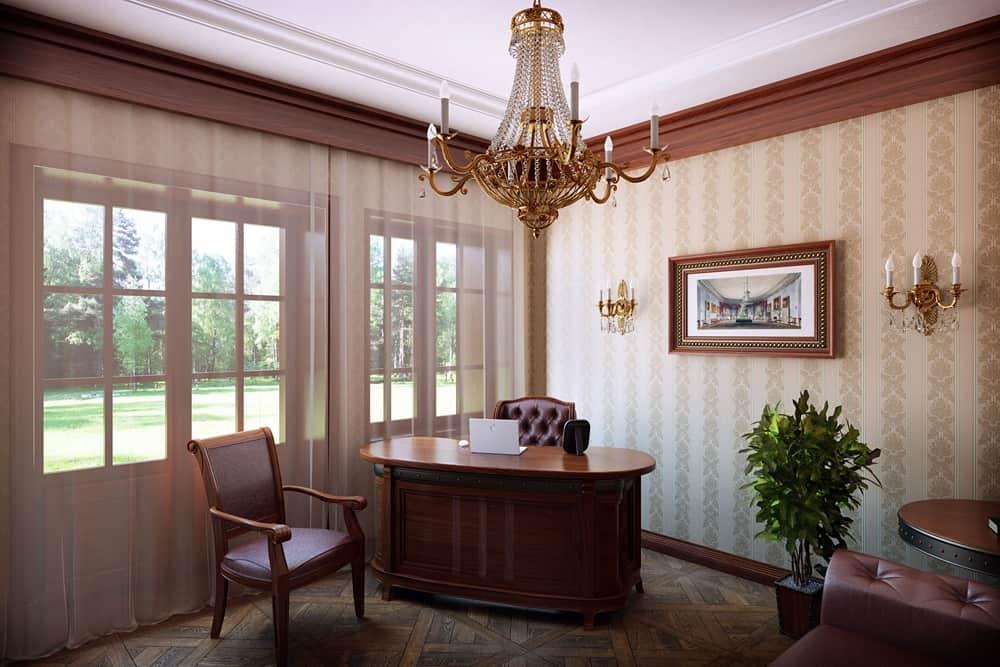 decorating with dark leather sofa sofas wilson road huyton office decor ideas: classic design