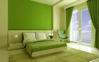 Bedroom interior design green bedroom – HOUSE INTERIOR