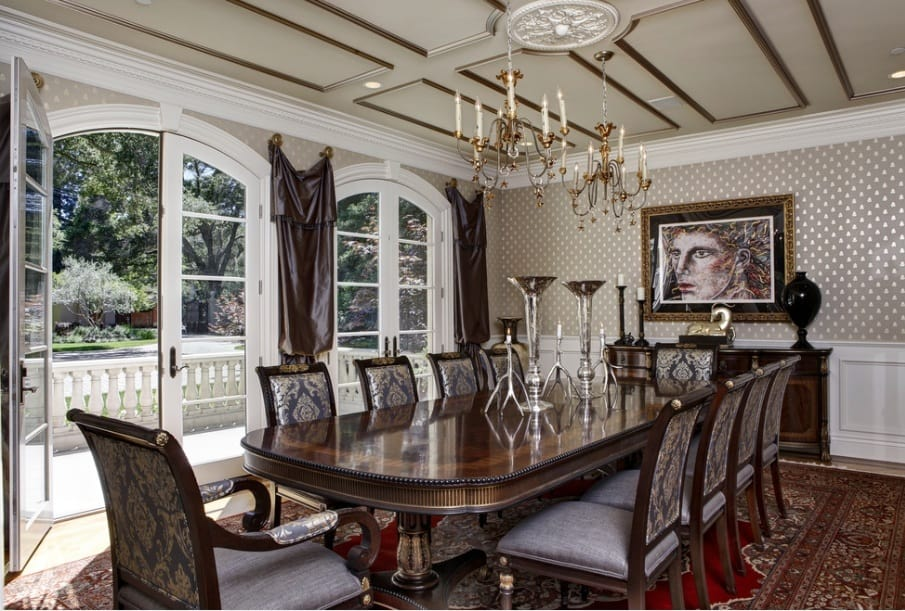 Dining room design ideas Gothic dining room