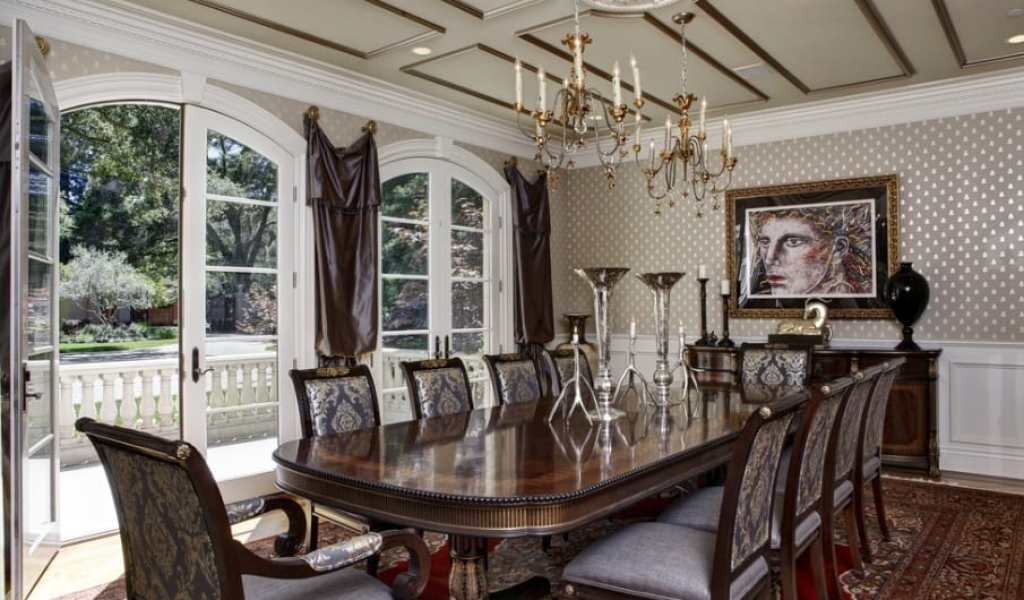 Gothic Home Decor Dining Room