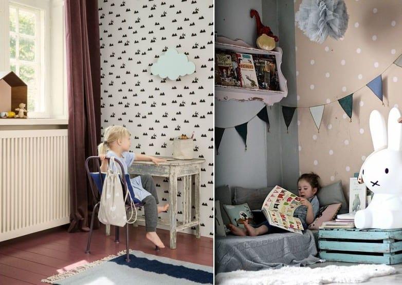 Kids room decor ideas Scandinavian kids room