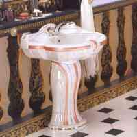 Modern bathroom design: Art nouveau bathroom