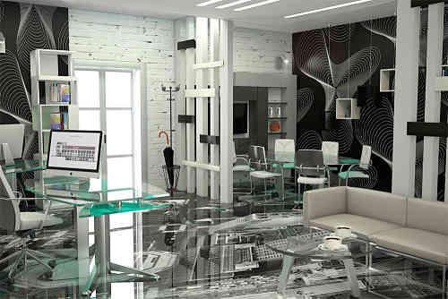 Office Design Ideas High Tech Office
