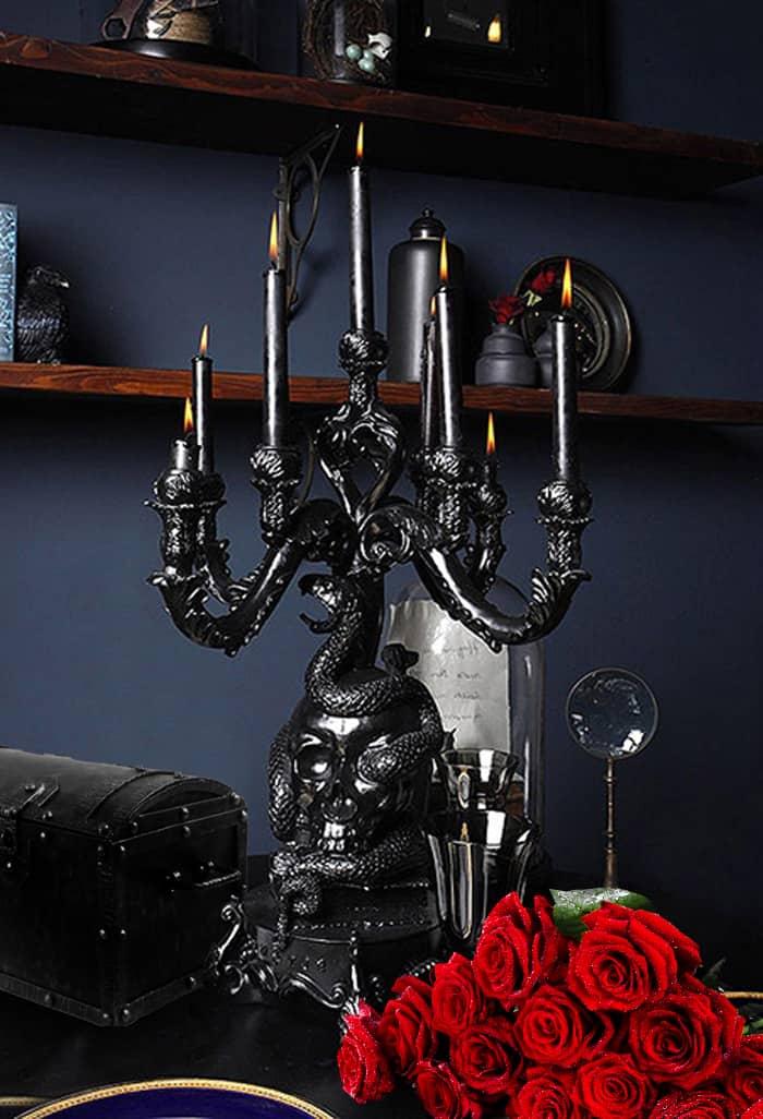 Bedroom decor ideas Gothic bedroom