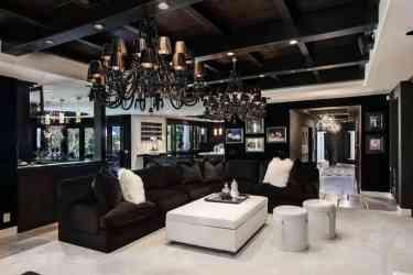 Interior design trends 2017: Gothic living room