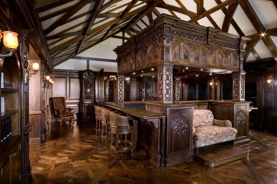Interior design trends 2017: Gothic living room - HOUSE ...