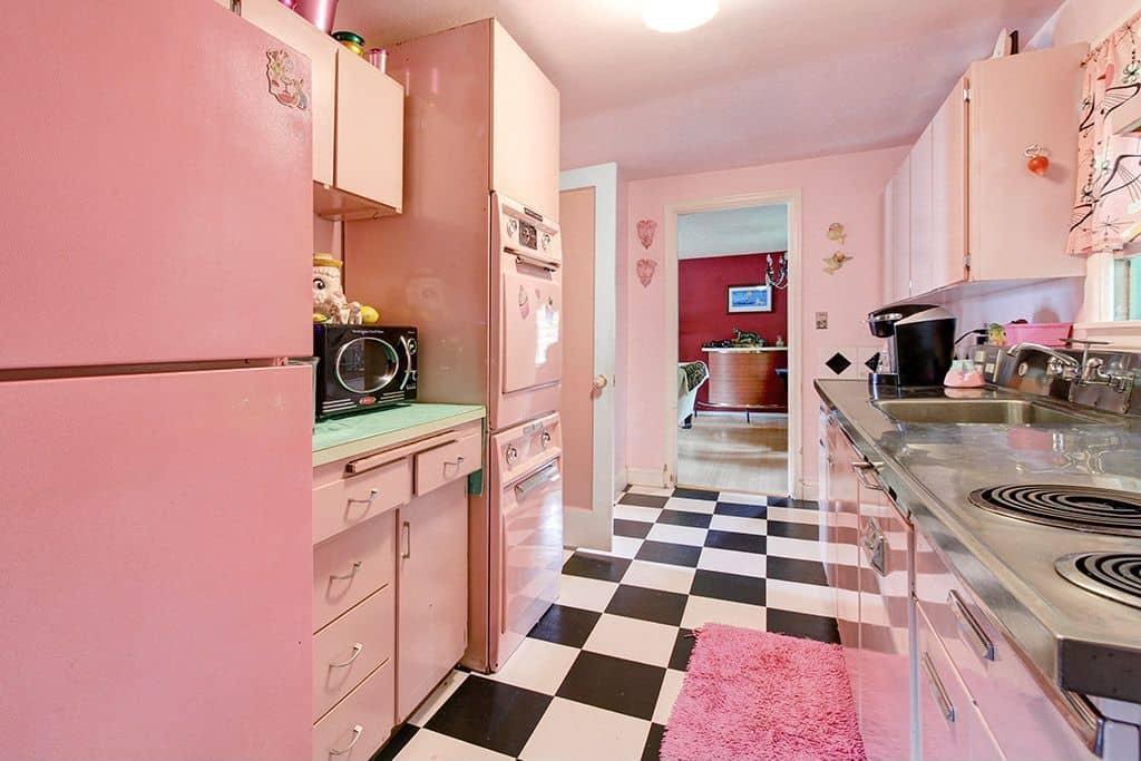Interior Design Trends 2017 Pink Kitchen