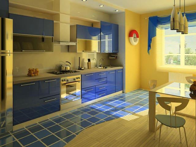 Kitchen design Nautical kitchen decor