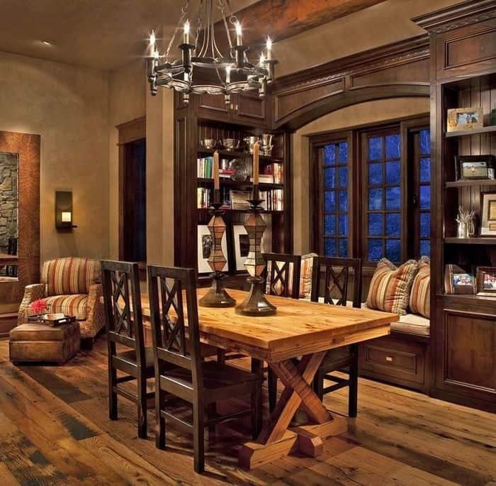 Dining room ideas Rustic dining room