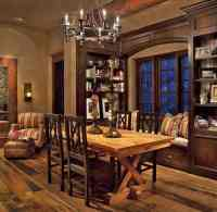 Dining room ideas: Rustic dining room