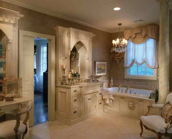 Victorian Style Interior Design Bathroom