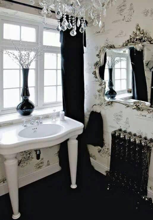 Home Decor Trends 2017 Gothic Bathroom