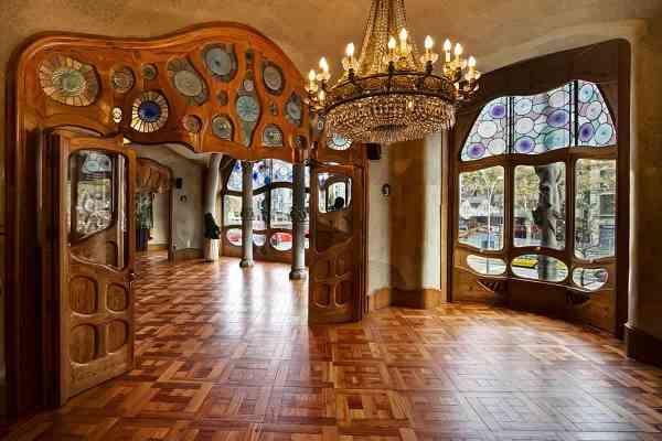 Gaudi Casa Mila Interior