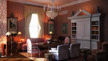 Interior design trends 2017 Retro living room