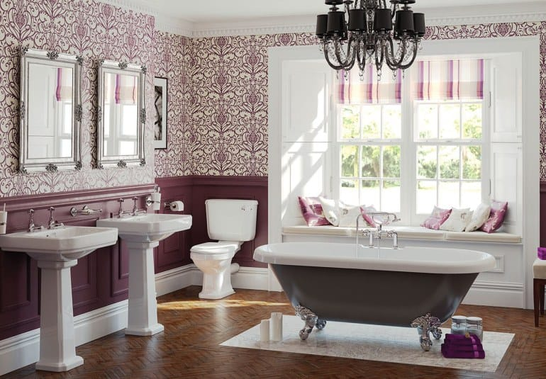 Interior Trends 2017: Vintage Bathroom