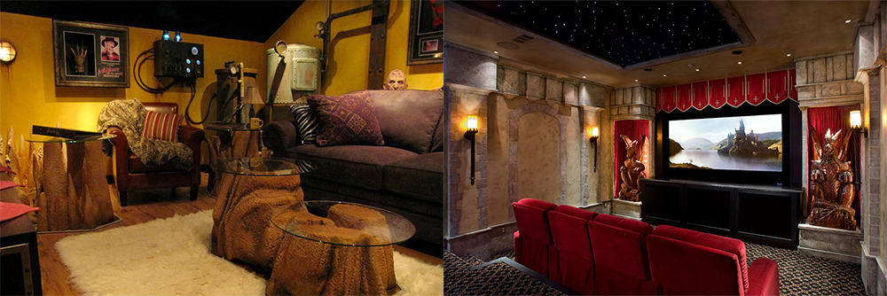 Home Theater Design Photos And Tips For Theater Room Decor