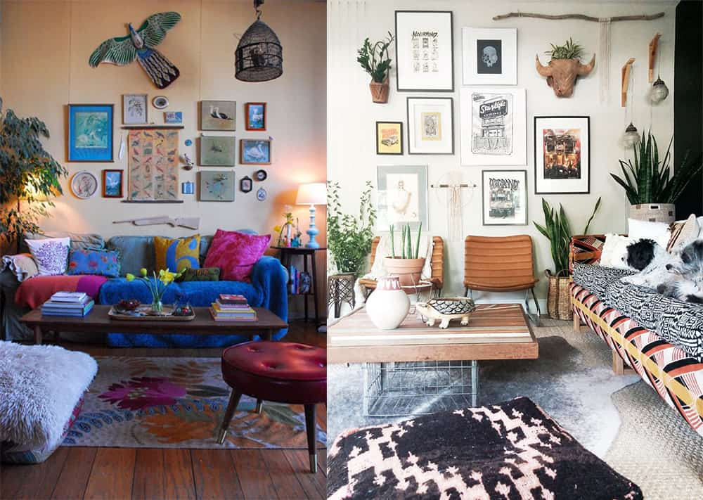 Boho home decor: Enchanting Boho living room for your home