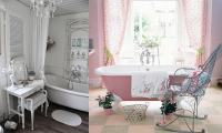 Bathroom decor ideas: Dreamy Shabby chic bathroom for your