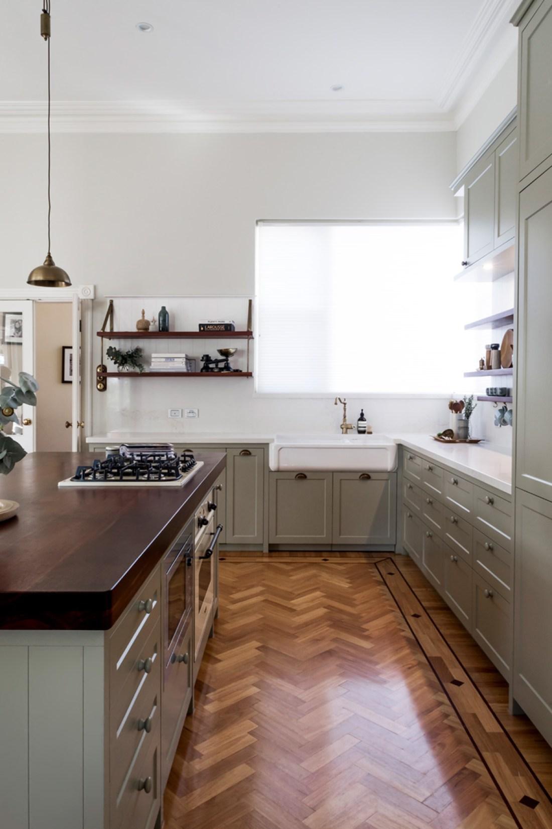 staple-design-rachael-pearse-house-nerd-shaker-kitchen-renovation-subiaco-green-kitchen-reno-traditional-herringbone-parquetry-floors-custom-made-cabinetry-perth