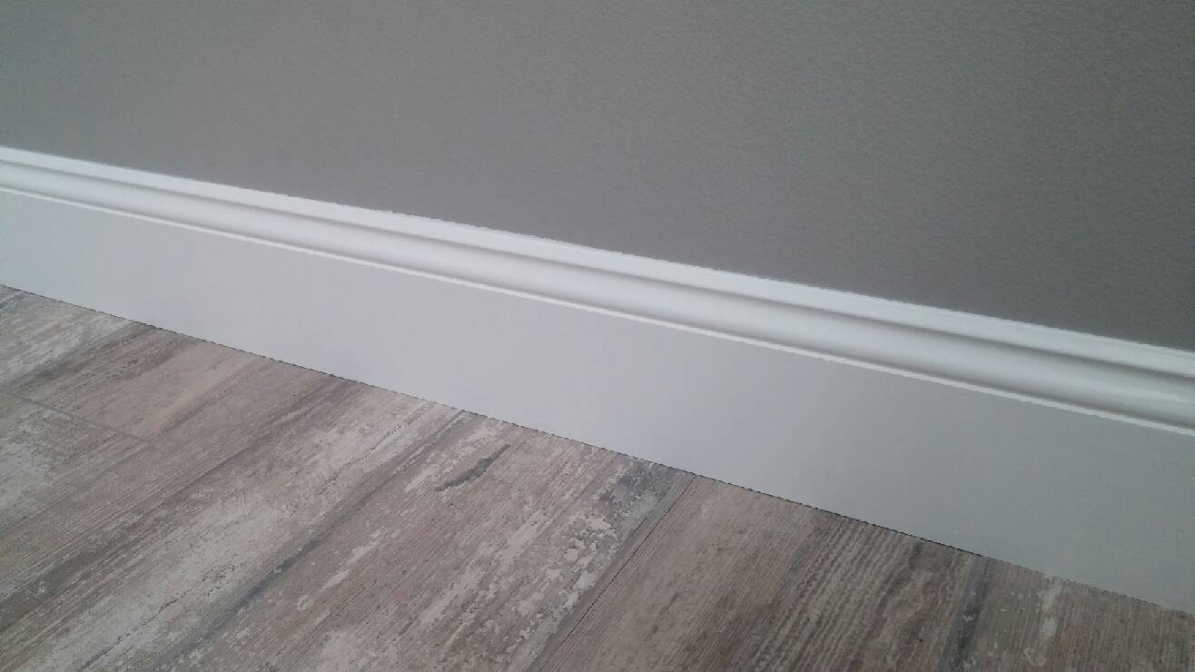 Cover Fireplace With Drywall Baseboard Installation (toronto) | House Renovations