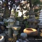 喜久井の家030 灯籠と手水鉢