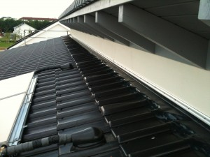 vorbereitungen f r den estrich solaranlage fensterb nke our house. Black Bedroom Furniture Sets. Home Design Ideas