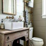 60 Stunning Farmhouse Bathroom Decor and Design Ideas (37)