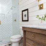 60 Stunning Farmhouse Bathroom Decor and Design Ideas (51)