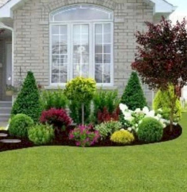 awesome front yard garden design