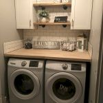 40 Cozy Laundry Room Design and Decor Ideas for Your Home (20)