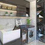 40 Cozy Laundry Room Design and Decor Ideas for Your Home (30)