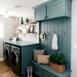 40 Cozy Laundry Room Design and Decor Ideas for Your Home (6)