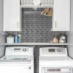 40 Cozy Laundry Room Design and Decor Ideas for Your Home (7)