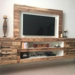 50 Awesome Pallet Furniture TV Stand Ideas for Your Room Home (10)