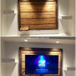50 Awesome Pallet Furniture TV Stand Ideas for Your Room Home (17)