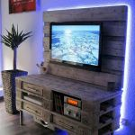 50 Awesome Pallet Furniture TV Stand Ideas for Your Room Home (26)