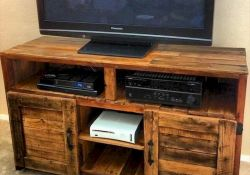 50 Awesome Pallet Furniture TV Stand Ideas for Your Room Home (31)