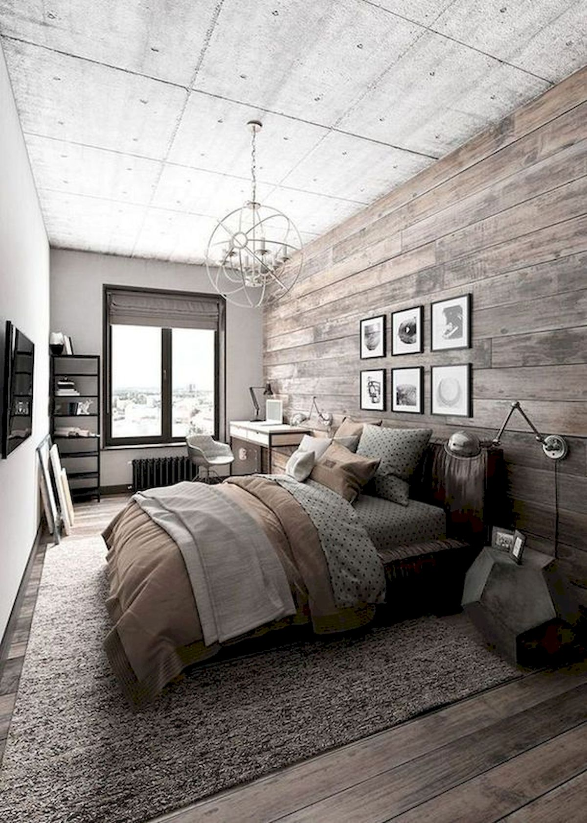 50 awesome wall decor ideas for bedroom 40  house8055