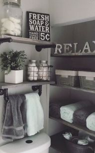 50 Awesome Wall Decoration Ideas for Bathroom (22)