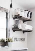 50 Awesome Wall Decoration Ideas for Bathroom (23)