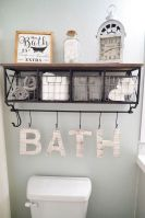 50 Awesome Wall Decoration Ideas for Bathroom (30)