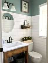 50 Awesome Wall Decoration Ideas for Bathroom (56)