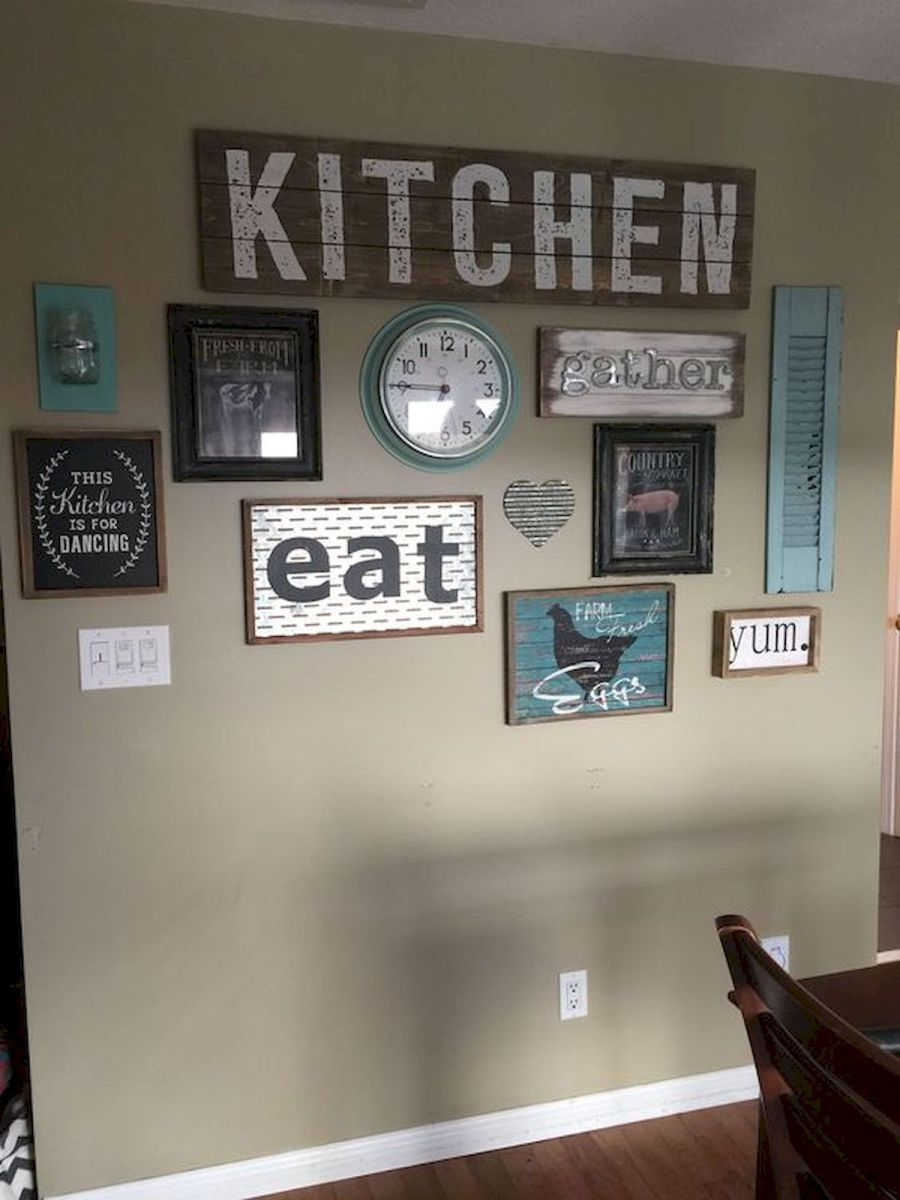 50 Awesome Wall Decoration Ideas for Dinning Room (17)
