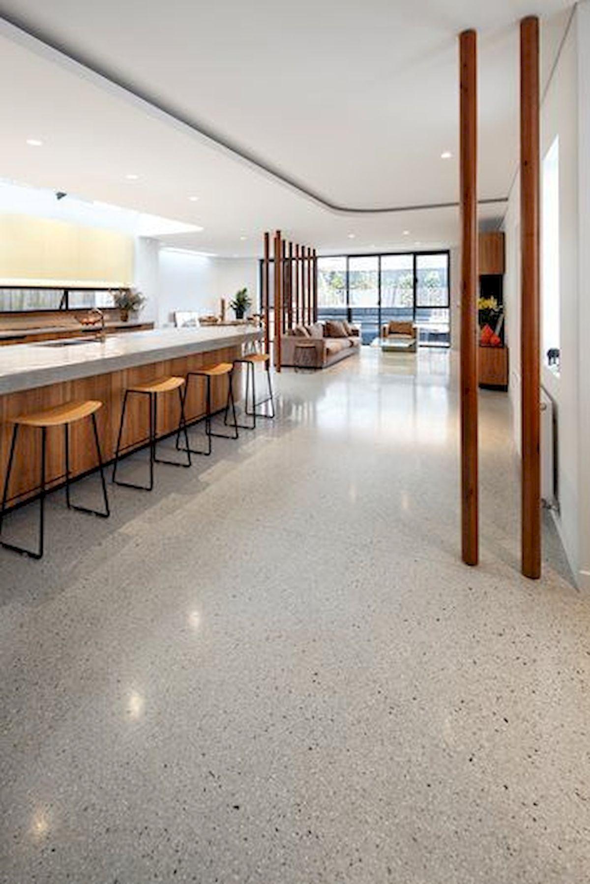 70 Smooth Concrete Floor Ideas for Interior Home 20 ...