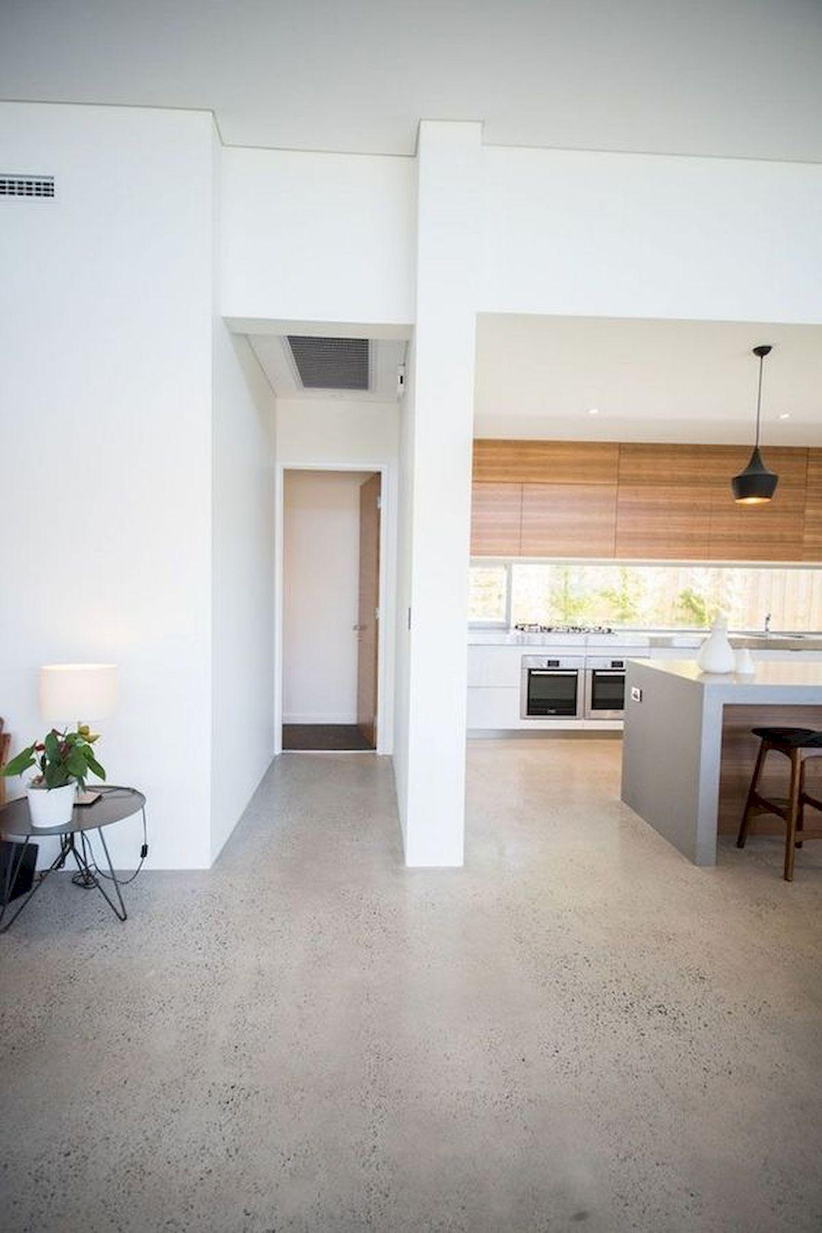 70 Smooth Concrete Floor Ideas for Interior Home 37 ...