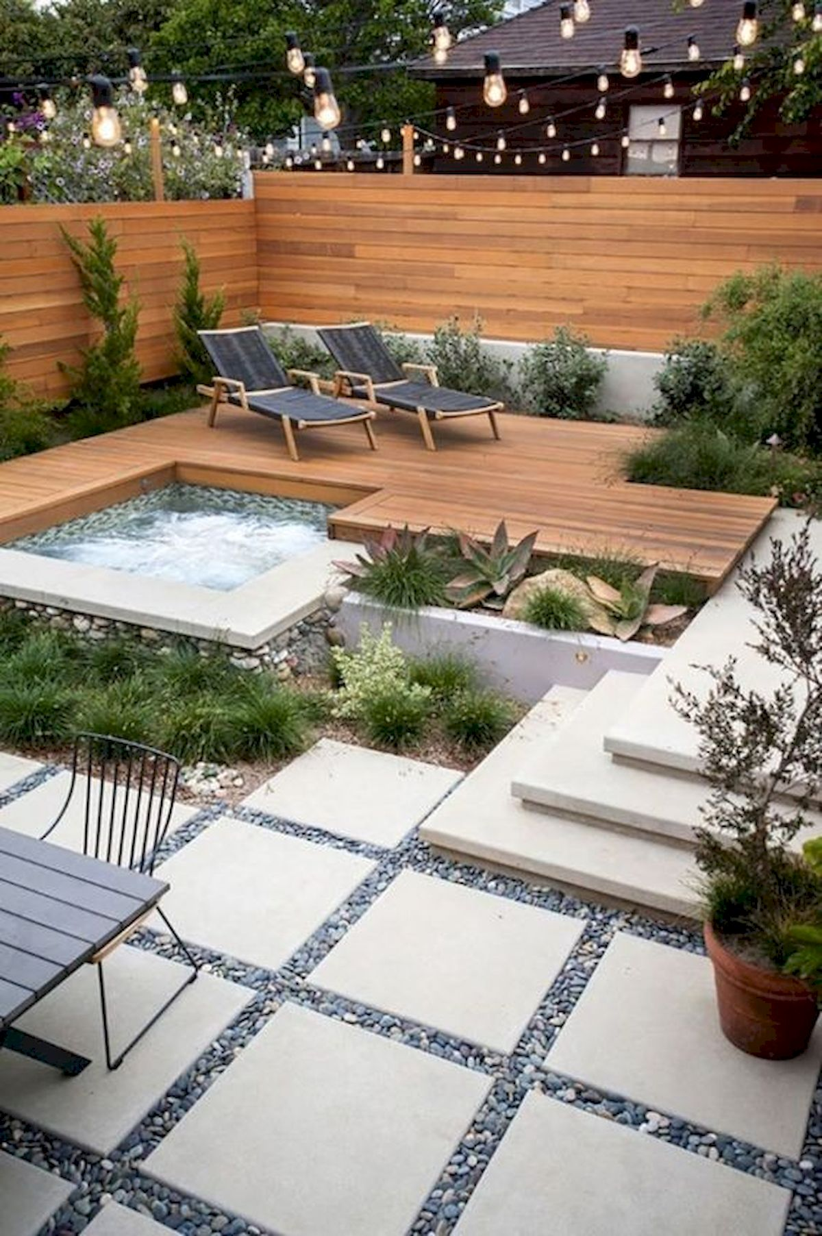 50 Fantastic Backyard Patio And Decking Design Ideas (2)