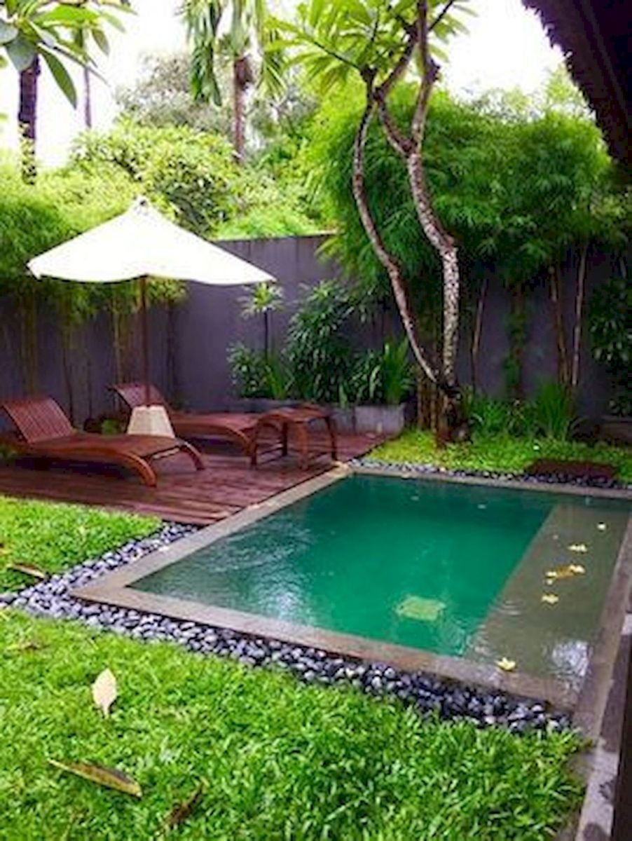 50 Gorgeous Small Swimming Pool Ideas for Small Backyard (8 ...