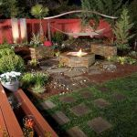 55 Awesome Backyard Fire Pit Ideas For Comfortable Relax (49)